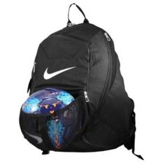 Nike soccer bag. I'd use it for volleyball though!