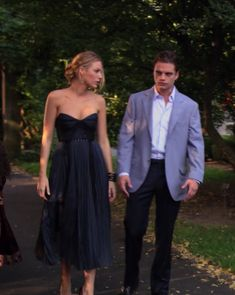 Serena Van Der Woodsen and Carter Basin Gossip Girl Lily and Rufus wedding bridesmaid dress