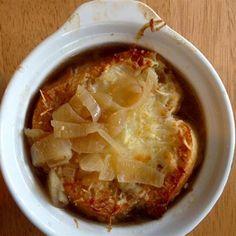 Caramelized onions *make* this French Onion Soup.  Allrecipes.com