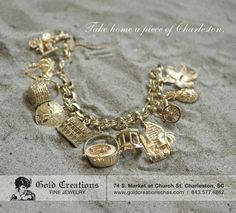 Gold Creations in the Historic Charleston Market