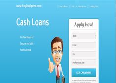 PaydaySpeed.com offers $1000 cash advance, bad credit ok, no faxing, and get the approval in 1 hour. http://www.paydayspeedloans.com/suggestions-you-require-before-getting-a-pay-day-speed-loan
