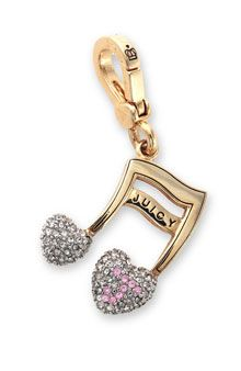 Charm, Juicy Couture, Jewelry, Music Note
