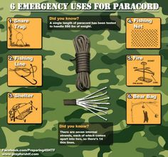 Paracord: Everything You'll Ever Need to Know by Survival Life at http://survivallife.com/2014/11/20/paracord/