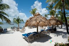 If you're headed to the Florida Keys, it's likely you're wanting to spend some time on the beach. The tropical climate means sunny weather year-round, perfect for surf and sand activities. For easy access to the gorgeous beaches, consider staying at a property directly along the water -- you'll also have optimum sunset views. Take a look at our top beach hotel picks in the Florida keys, and start planning your beach getaway!