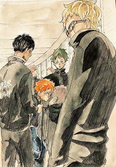 Hinata, Haikyuu Kageyama, Haikyuu Funny, Haikyuu Fanart, Haikyuu Anime, Haikyuu Characters, Anime Characters, Manga Art, Anime Art