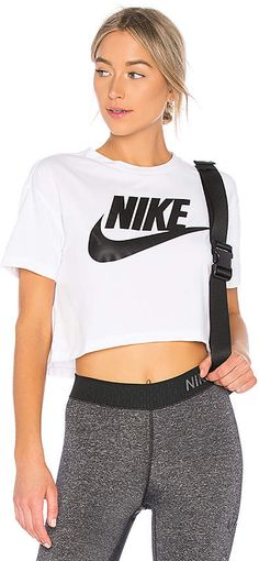 e95a9332 Nike NSW Essential Short Sleeve Top Athletic Wear, Athletic Outfits,  Athletic Clothes, Dance