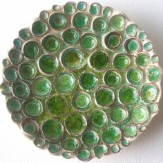 Lisa Stevens. Sea urchins ceramic and glass