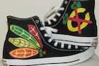 Blackhawks-Logo Converse Shoes Hand-Painted by 15-Year-Old Artist - Near West Side - DNAinfo.com Chicago