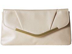 Jessica McClintock Arielle Snake Envelope Clutch