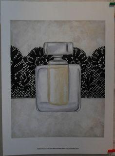 $14.50  Perfume ART Print Femme Noir III BY Chariklia Zarris | eBay