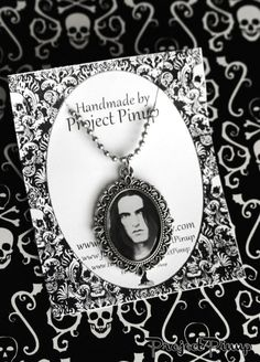 Peter Steele Type O Negative Cameo Necklace on Etsy, $15.00