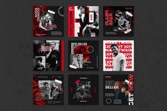 Sports Graphic Design, Graphic Design Posters, Graphic Design Inspiration, Social Media Template, Social Media Design, Layout Do Instagram, Instagram Posts, Banner Design, Layout Design
