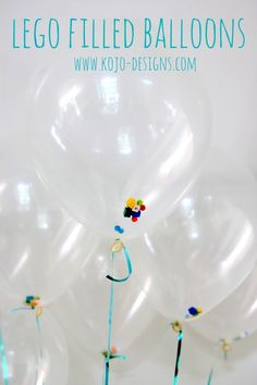 DIY : LEGO filled Balloons in the Group Board LEGO® LOVE http://www.pinterest.com/yourfrenchtouch/lego-love - If you ♥ LEGO®, come and have a look at the crowdest LEGO® LOVE group board http://www.pinterest.com/yourfrenchtouch/lego-love #LEGO