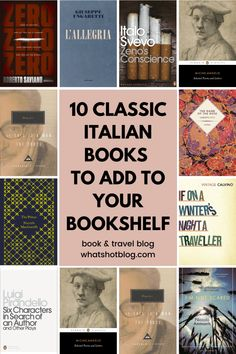 These Italian novels are some of the very best works of Italian literature. They're all books by Italian authors and well worth reading before travelling to Italy. Book Club Books, Book Lists, Good Books, Books To Read, Reading Books, Reading Den, Reading Lists, Literature Books, Classic Literature
