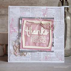 THANKS FRIEND CARD