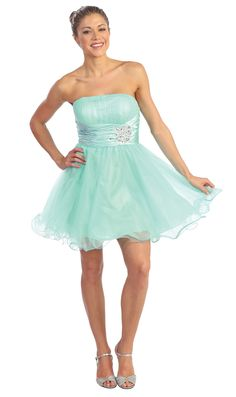 Homecoming DressSweet 16 Dress under $100 8011 In Style Attitude!
