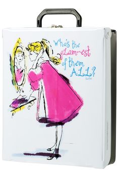 Travel in style… and keep your doll-sized items safe! Vinyl Doll Case. $35