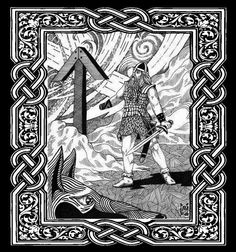 Norse god TYR http://www.viking-mythology.com/