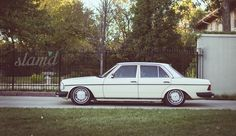 Keep It Simple: Jon Hansen's 1979 Mercedes W123 Diesel - Slam'd Mag
