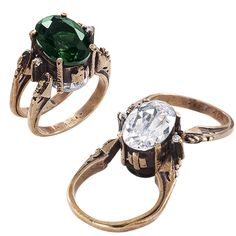 CZ Reversible Ring - New Age & Spiritual Gifts at Pyramid Collection