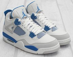 "Win FREE Air Jordan 4 ""Military Blue"""