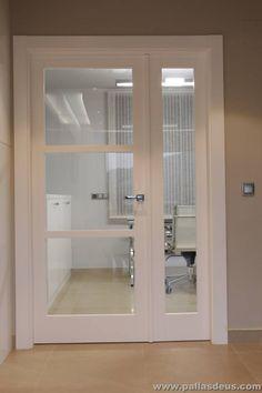 Resultado de imagen de puertas de interior lacadas en blanco