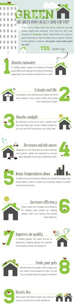 Why have a #greenroof ?