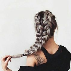 Neat This schoolgirl favorite is all grown up. See the 12 new braided hairstyles we can't get enough of and learn exactly how to do them The post This schoolgirl favorite is all grown up. New Braided Hairstyles, Pretty Hairstyles, Holiday Hairstyles, Hairstyle Ideas, Hairstyle Braid, Bun Updo, Hairstyles Pictures, Hairstyle Tutorials, Hair Buns