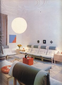 From the Complete Book of Decorating: An Illustrated Guide to Designing Your Home edited by Corinne Benicka. Published by Hamlyn, 1980