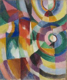 Sonia Delaunay, Prismes électriques, 1913-1914