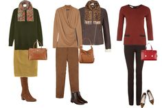 Casual looks for the warm coloured woman