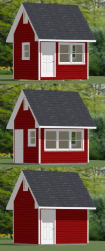 12x10 Shed -- #12X10S2 -- 120 sq ft - Excellent Floor Plans