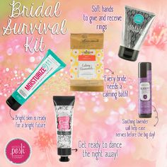 Wedding Season is upon us! Pamper a bride-to-be, bridesmaids, or yourself! You deserve it! www.poshwithcarissa.com