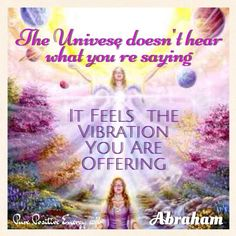 It is the Vibration...