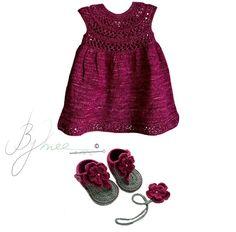 Outfit we love! 👸✔ #burgundy #trendiestcolor #babywear #elegant #christmas #warmcolor #itsbeginningtolookalotlikechristmas #christmasgift #festiveseason #handmade #crochet #knitting #lebanesedesigners #Bymee #bymeecreations #beirut #lebanon