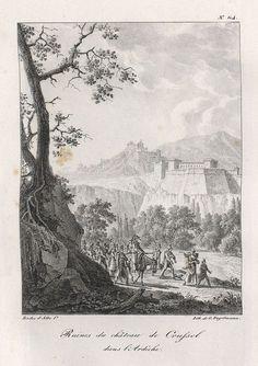 1818 Une vivandière d'infanterie bien visible avec son tonneau .  En infanteri vivandiere med sitt kagge