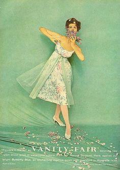 Vanity Fair Lingerie 1959