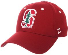 the best attitude b6a6d bc289 Zephyr Men s Stanford Cardinal Cardinal ZH Stretch Fit Hat, Red Stanford  Cardinal, Cardinals,