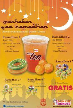 Dunkin Donuts: Promo Ramdhan @dunkinindonesia