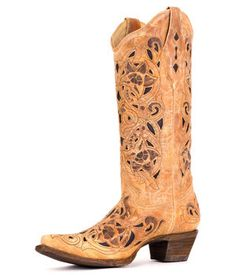 Corral Ladies Antique Saddle Boot - A1970
