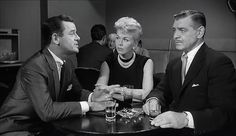 Teacher's Pet (1958) , Gig Young, Doris Day and Clark Gable. Jewelry by Joseff of Hollywood