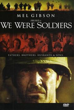 """We Were Soldiers"" Amazing movie & book. I cannot express how great this was. I felt so much pride & victory yet i felt the sorrow & pain of it."