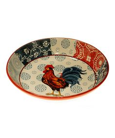 Take a look at this American Rooster Serving Bowl by Certified International on #zulily today!