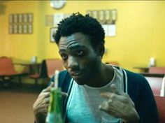 "Childish Gambino, the singer and rapper (and actor otherwise known as Donald Glover), attempts to get the girl in his new video for the comically sexy ""Sober."" Captures the highs and lows of drugs really well. Danny Glover, Donald Glover, Atlanta Series, Childish Gambino, Chance The Rapper, People Of Interest, Sober, Celebrity Crush, Pretty People"