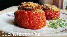 Pomodori ripieni di carne al forno