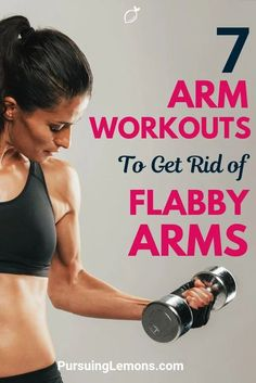 7 Arm Workouts To Get Rid of Flabby Arms - - Here are 7 arm workouts exercises that you can do easily to build toned arms. It's time to bring back those sexy arms of yours! Arm Exercises With Weights, Flabby Arm Workouts, Exercise For Flabby Arms, Arm Exercises Women, Upper Arm Exercises, Upper Body Workout Routine, Workout Routines, Workout Tips, Post Workout