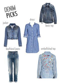 denim picks: Topshop, H and more. #jeans #fashion