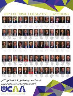 2017 Legislative c4 Scores - Utah Cultural Alliance
