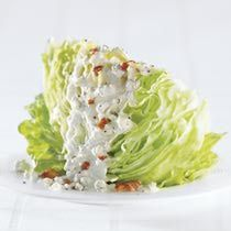 I made this blue cheese dressing tonigh.  Home made, low carb and delicious.