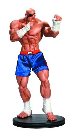 Pop Culture Shock Collectibles Street Fighter: Sagat 1:4 Scale Statue